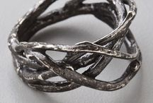 Branch, twig and flower rings / by Max Beusen