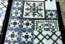 Handmade Cement Tiles / Handmade cement tiles http://www.tsourlakistiles.gr/ https://www.facebook.com/tsourlakistiles
