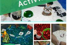 Great sensory activities for kids / Loads of great ideas on this board. Easy to make. Give it a bash.