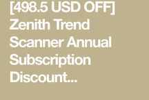 Zenith Trend Scanner Annual Subscription