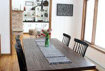 Kitchen Inspiration / Kitchen Home Decor Inspiration - white and neutral decor - modern coastal farmhouse decor - rustic decor