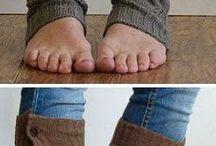 Lange strømper