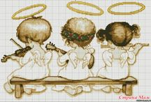 CROSS STITCH ANGELS