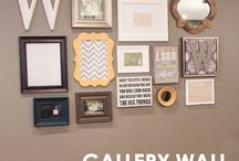 Gallery walls / frames, images