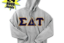 Sigma Delta Tau / Something Greek specializes in sorority clothing for Sigma Delta Tau. We have Sigma Delta Tau recruitment shirts, bid day sweatshirts, SDT letter key chains, picture frames, screenprinting ideas, custom greek apparel for Sigma Delta Tau, and much more!  http://somethinggreek.com/shop/sigma-delta-tau.asp / by Something Greek