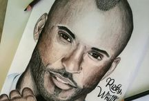 Drawing / Bebe Rexha, Ricky Whittle,..