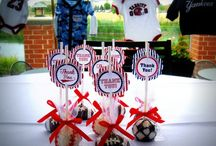 Sports Theme  / Baby Shower Ideas