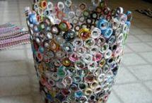 Trash-2-Treasure~DIY+Crafts~creativity / by Mr. & Mrs. Nitish & Kimberly Sharma