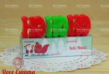 Sabonetes pra o Natal, christmas soap. / Ideias de sabonetes para o natal, christmas soap ideas