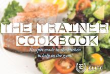 The Trainer Cookbook / Our trainers dish out their favorite workout-approved recipes and meals! Bodies aren't only made in the gym, but the kitchen as well!