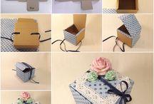 How to Hand Make Paper Gift Box / handmade