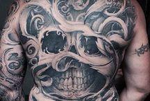 Skull full back