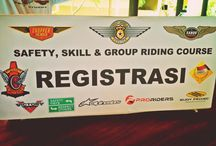 SAFETY RIDERS / With all Sanur Riders Member join Safety Riding Course at pantai matahari terbit sanur, Denpasar Bali
