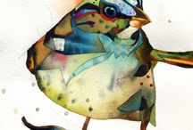Birds art / by Lisa Schwaberow