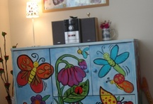 DIY - painted cabinet