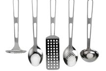 KITCHEN UTENSIL SET / Contemporary yet functional kitchen utensils.