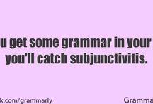 Grammar / by Toby Morris