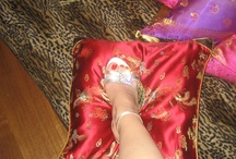Photos of Me with my shoes and more....