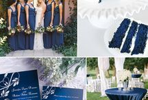 Wedding Shades of Blue