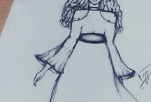 My Fashion Sketches