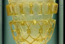 verre romain - diatrètes