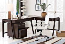Кабинет руководителя в квартире, доме. Дизайн интерьера / В данном разделе собраны примеры дизайн интерьера домашнего рабочего кабинета, фото проектов.