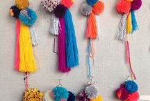 Inspired by // Tassels & Pom Poms / Fashion's never been this fun