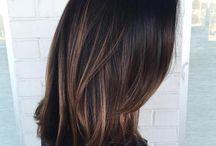 Black Hair Coloring