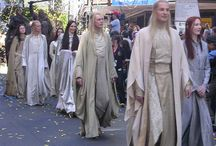 Lord of the Rings and Hobbit Elf Costumes / Elven Fashions of Middle Earth