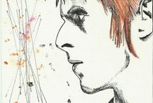 Bowieart / My drawing <3
