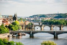 "Day Tour from Vienna to Prague / Prague - the ""Golden City"" on the Vltava river - attracts you with its grand buildings, its historic city centre and its cultural flair."