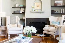 living | family rooms / by Angie Helm Interiors