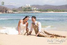 Foto boda playa