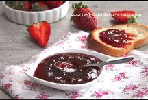 Fraises, recettes avec des fraises