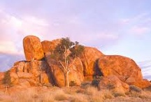 Devils Marbles and Rock Formations