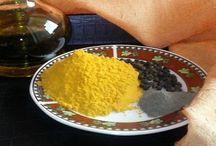 Kurkumy olej čierne korenie