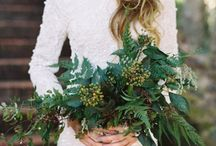 Wedding Flowers / Inspiration for the bouquets. I like different elements of each photo.
