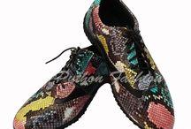 Женская обувь. / Обувь. Обувь из кожи питона. Женская обувь.