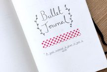 Bullet Journal / Moleskine