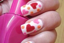 Valentine Day Nail Art Ideas Heart <3 / Checkout DIY nail art ideas for valentine day