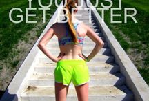 Motivation to exercise / by Carole Pray