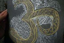 Painting. Мои рисунки, картины и роспись предметов