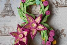 Quilling: Numbers