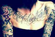 Chest Tattoo / by Tan CL