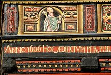 Konserwacja zabytków farbami naturalnymi, Dom Wernera Hildesheim Niemcy / Konserwacja i ochrona drewnianych elementów na historycznych fasadach i we wnętrzach