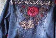 jaquetas bordadas