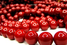 A good red is hard to find / Red is a tough color to find in beads and jewelry components.  Here is to the true reds!