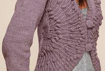 Knitting jackets