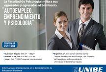Seminario Autoempleo, emprendimiento y psicología / AUTOEMPLEO,  EMPRENDIMIENTO Y PSICOLOGIA