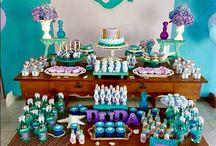 aniversário tema Ariel